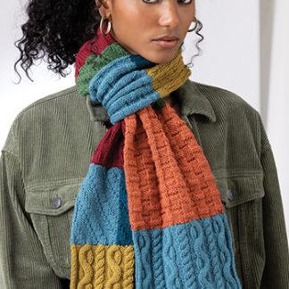 VK Social scarf KAL