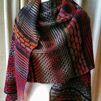 Mosaic Mania shawl
