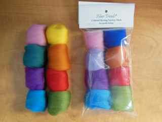 Fiber Trends Colored Roving Variety Pack