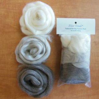 FT Natural Roving Variety Pack